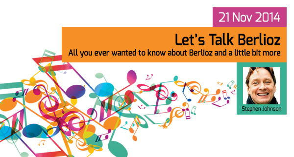 Let's Talk Berlioz - 21 Nov 2014