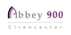 Abbey 900 Cirencester festival logo