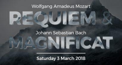Mozart: Requiem, Bach: Magnificat