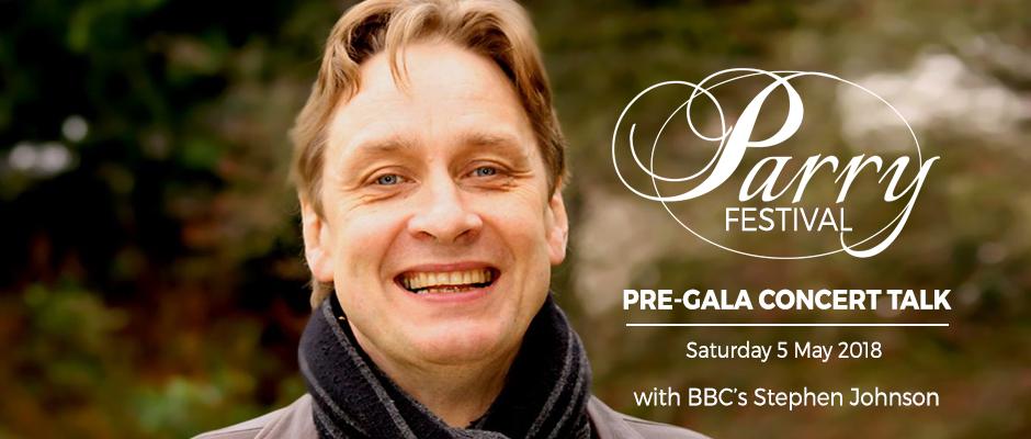 Parry Festival - Pre-Gala Concert Talk