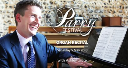 Parry Festival: Organ Recital with Ashley Grote