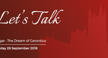 Let's Talk: Gerontius